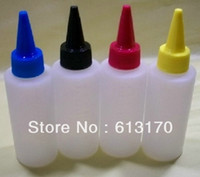 Wholesale 100ml Plastic ink bottle Needle nose bottle sample bottle reagent drop Bottle JZ01