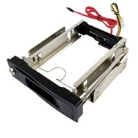 desktop hard drive - 3 quot SATA HDD ROM Hard Disk Drive Aluminum Mobile Rack Hot Swappable For Desktop PC D5308A