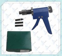 Wholesale German Spring Lock Pick Gun Plug Spinner Rapid Inversion Gun Flat Lock Tool Auto Cross Pick Locksmith Tool Lock Pick Set A193