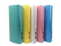 2 USB Fuente de alimentación móvil 10400mAh cargador de batería externo portable 10400mAh para el iPhone Xiaomi HTC bateria externa