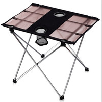 aluminum folding table legs - CAMTOA Ultra light Outdoor Portable Folding Table Foldable Tables Aluminum Alloy Desk Legs For BBQ Picnic