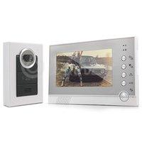 Wholesale 7 quot LCD Color Video Door Phone IR Home Entry Intercom Doorbell Monitor Camera