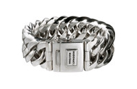 Wholesale Buddha to Buddha Armband Chain Big style Silver Buddha to Buddha BTB Bracelet fashion Men s Bracelets sterling silver bangle chain