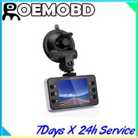 mobile dvr - 2 quot p Portable Car Camera Car DVR Recorder K6000 with HDMI TFT LCD Color Screen FPS Mobile Detection