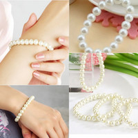 Wholesale 2015 New Fashion Pearl Bracelet Engagement Party Diamond Luxury Wedding Bracelets Gift Hot Sale Beautiful