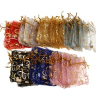 red heart candy - 9 cm Love Heart Sheer Wedding Favor Organza Candy Pouch Charming Jewelry Loose Beads Bag Colors XAL