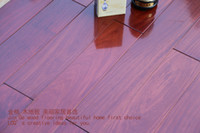 Wholesale Red sandalwood commonly known as balsurface relief effects processing for living room BLING fashion Solid wood flooring professional export