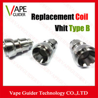 b e heading - Replacement Vhit Type B Vhit Type C Coils Reusable Wax Atomizer Replaceable Coil Fit For Vhit Type B Type C Head Ecigs E cigs Atomizer