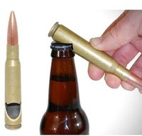 Wholesale DDA3818 HOT Factory Price Cheap Polished Creative Bullet Shape Bottle Opener Creative Stainless Steel Bottle Opener Wine Corkscrew