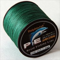 Wholesale Big promotion New Arrival m Green Pe Braid Fishing Line Strands Top Grade Japanese Floating Line Fishing jy112