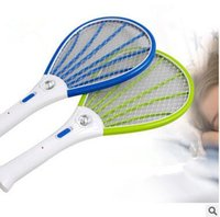 mosquito racket - 100PCS LJJL54 Mosquito Electric Swatter Bug Zapper Insect Fly Racket Mosquito Killer Rechargeable LED Bug Racket