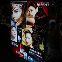 Wholesale Thickness of mm frameless advertising light box with the latest research highlight article led backlight screen brightness can reach more
