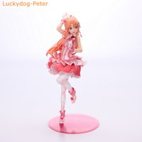 art products online - Sword Art Online Asuna Action Figure Cute Flashing Ver Yuuki Asuna Doll PVC ACGN figure Toy Brinquedos Anime CM