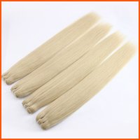 Wholesale Peruvian Virgin Hair Straight Blonde Extension Weft Weaving A Unprocessed Indian Brazilian Malaysian Human Remy Hair