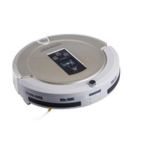 Wholesale AmTidy A325 Multifunction Intelligent Robot Vacuum Cleaner with Sweep Vacuum Mop Sterilize LCD Touch Screen Schedule Self charge