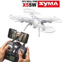 Wholesale Syma X5SW Explorers2 G CH Axis Gyro RC Headless Quadcopter with MP HD Wifi Camera FPV White