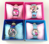 ben 10 - 39 Designs Minions Frozen KT Ben Transformer Kids Watches with Box for Boys and Girls DHL