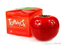 acne organic - Brand Tonymoly Tomatox Magic Cream Tony Moly Organic Tomato Facial Mask Whitening Moisturizing Facial MaskTomato Tonymoly Skin Care Mask