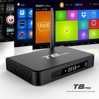 Quad Band - Quad core tv box metal case external wifi dual band Ghz Kodi XBMC Amlogic S812 Streaming Media Boxes GB GB T8 pro TV Box
