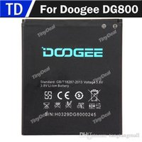 Wholesale Original Doogee DG800 V mAh Li ion Mobile Phone Battery Backup Battery for Doogee DG800 Batterie Batterij Bateria