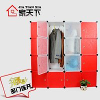 Wholesale Overall wardrobe portable Large child diy hanging closet
