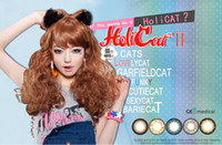 Daily wear / 365 days geo lens - GEO Holicat Color Contacts Big Eye Circle lenses range of prescriptions ready stock