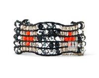amazing handmade jewelry - New Amazing Rhinestone Cuff Bracelet High Quality Crystal Jewelry Beaded Bracelet Bling Handmade Bracelets