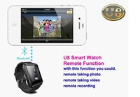 android brand watches - U8 Bluetooth Smart Wrist Watch Taken brand Phone Mate for Android And IOS Sport Fitness Tracker Message Reminder