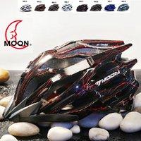 Wholesale Moon Top Grade Air Vents Integrally molded Cycling Helmet Ultralight Bicycle helmet Highway Road Mountain Bike Helmet Moon