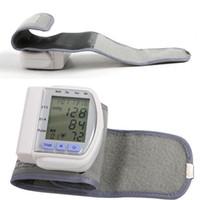 Wholesale Digital Automatic Wrist Blood Pressure Pulse Monitor Heart Beat Meter ZH034