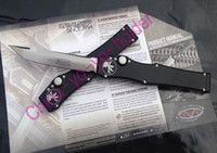 Wholesale MICROTECH AP HALO V T E pocket knife T point outdoor gear Tactical knife knives with box Limited time Sale