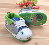 Wholesale baby causal shoes fashion dinosaur baby sneakers baby boy shoes soft sole baby shoes dandys