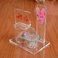 Wholesale N2722 little shake flash arts and crafts glass crystal lovers of school graduation gift birthday place adorn