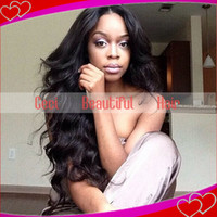 silk top full lace wigs - Silk Top Human Hair Wigs Full Lace Wigs inch Body Wave Front Lace Wigs Black High Quality Silk Base Hair Wigs
