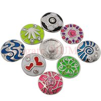 Easter flat ring - 100 Jewellery Accessories DIY Colorful Metal Snap Button Fit Snap Bracelrts Sanp Nacklaces And Snap Ring