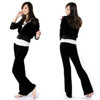 womens velour tracksuits - Hot Popular Womens Comfy Soft Velour Tracksuit Hoodie Sweat Set Drawstring Lounge Pants