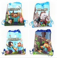 Wholesale New Arrival Quality Cute Minecraft Children Backpack Child PRE School Kid Boy and Girl Cartoon Bag styles