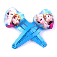 Wholesale 2014 frozen Anna elsa Baby BB clips girls hairpins Children Hair clips Headwear cute cartoon doll girls hair accessories