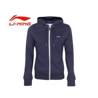 Wholesale Original New LINING Women s jacket AWDK274 Hoodie Sportswear