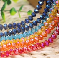 ab jewellery - Translucent mm crystal Loose beads DIY craft accessories beads AB color charm bracelets necklaces Fashion jewellery cheap jewelry AL