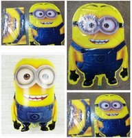 dhgate - Newest Despicable Me balloon cm Cartoon Minions Balloons Foil balloons Party Decoration Christmas Helium balloons Aluminum Dhgate