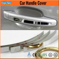 Wholesale 4Pcs set DIY Stainless Steel Car Handle Sticker Auto Accessories Protection Door Handle Cover For AUDI Q3 Q5 Q7 A4