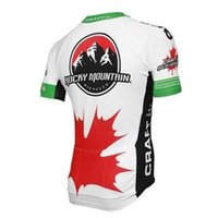 team canada jerseys - 2015 Brand New Canada Team Rocky Mountain Cycling Jerseys Short Sleeves Tops High Wicking and Breathable Cycling Shirts Quick Dry Bike Wear