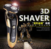 Wholesale Electric Shaver epilator Rechargeable Rotary Waterproof Washable face care beard trimmer D Head RAZOR BLADES men