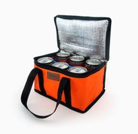 beer lunch - Hot Sale Thermal insulation box Lunch bag bottle cooler container ice bag fresh milk bag beer bag colors