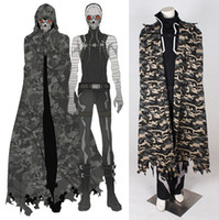 art tv online - 2015 Sword Art Online II Costume Cosplay For Death Gun Cloak cosplay Full Suit Custom Made Any Size drop shipping