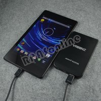 Cheap Wholesale-Free shipping 3500mAh Portable Back Up USB Power Bank External Charger for Google Nexus 7 2nd Generation