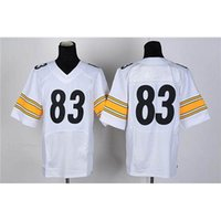 Cheap #83 White American Football Jerseys Cheap Athletic Apparel New Style Football Uniforms Fashion Team Sport Jerseys Outdoor Apparel Kits
