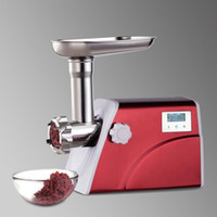 beef grinder machine - High Quality Aluminium Alloy Stainless Steel Electric Meat Mincing Machine W Meat Grinder Mincer Beef Smasher Cooking Tools order lt no t