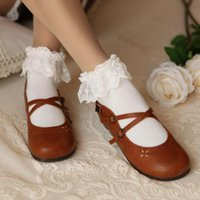 Wholesale New Sweet Cute Women Ladies Princess Girl Vintage Lace Ruffle Frilly Ankle Sock